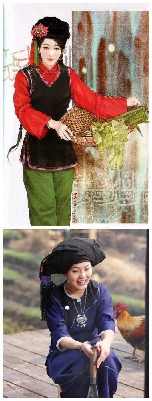 少妇自拍嫩b_中国56个民族传统服饰大全
