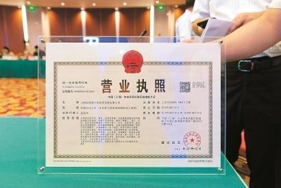 营业执照正副本_中国(上海)自贸试验区临港新片区颁发的首张营业执照.
