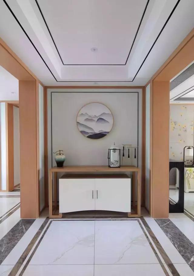142平大户型,简约新中式风装修,效果真让人惊叹!