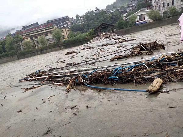 四川阿坝州19个乡镇逃离攻略大全,已致8人遭受23人失联死亡暗破房子灾害暴雨图片