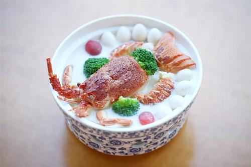 禧月阁月子中心月子餐丨海中美味:上汤浸龙虾