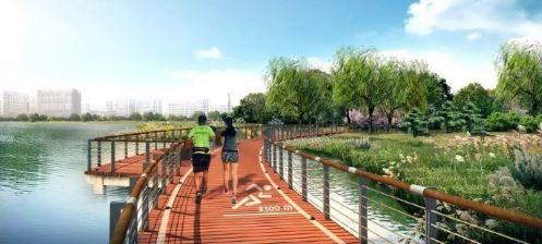 茧形大衣制版�_目前,天津港保税区的空港环湖健身步道正紧锣密鼓地施工中,其中健身