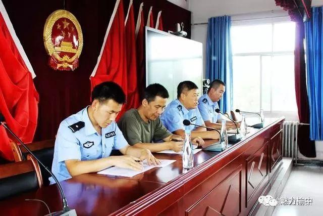 榆中县交委办举行标准化劝导