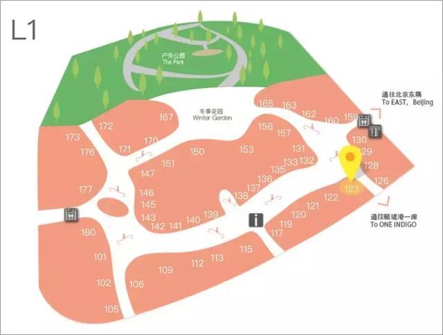从50张商场平面图,看购物中心动线规划