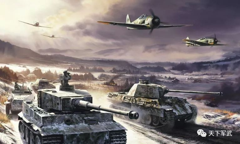 二战德国坦克飞机图片