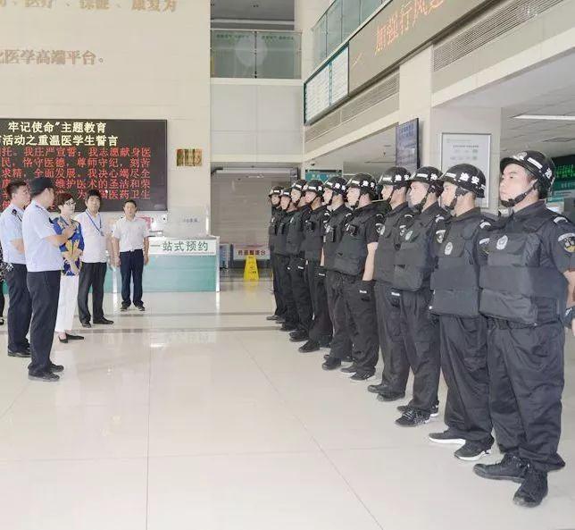 【佑安服务】 快速反应,北京佑安医院开展反恐防暴应急演练