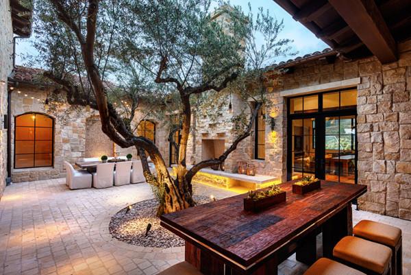 50款好的私家庭院意向景观