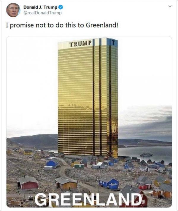 沈诗伟:地球那么大,特朗普宝宝为什么只想买格陵兰岛?