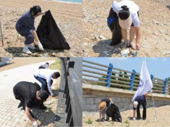 检察官学院大连分院赴美丽金石滩环保行动