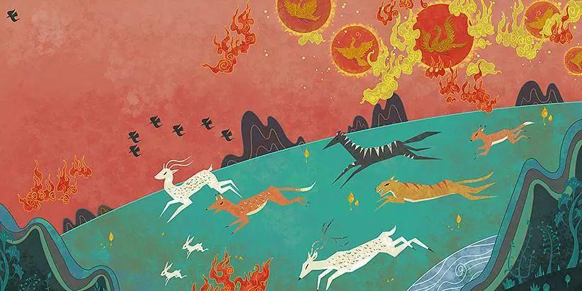 中国道教神话故事_中国神话宇宙的正确打开方式_伏羲