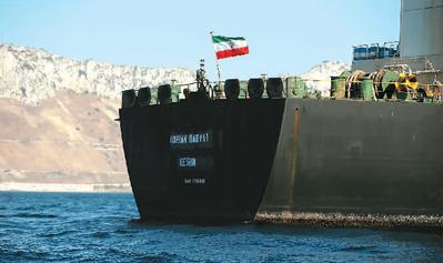 油轮获释给海湾紧张局势降温
