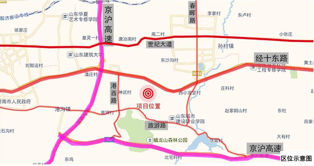 历城区电建路规划图