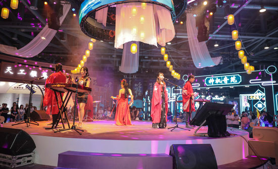 HiDii国乐团受邀倩女幽魂嘉年华,用科技为国风文娱带来新体验