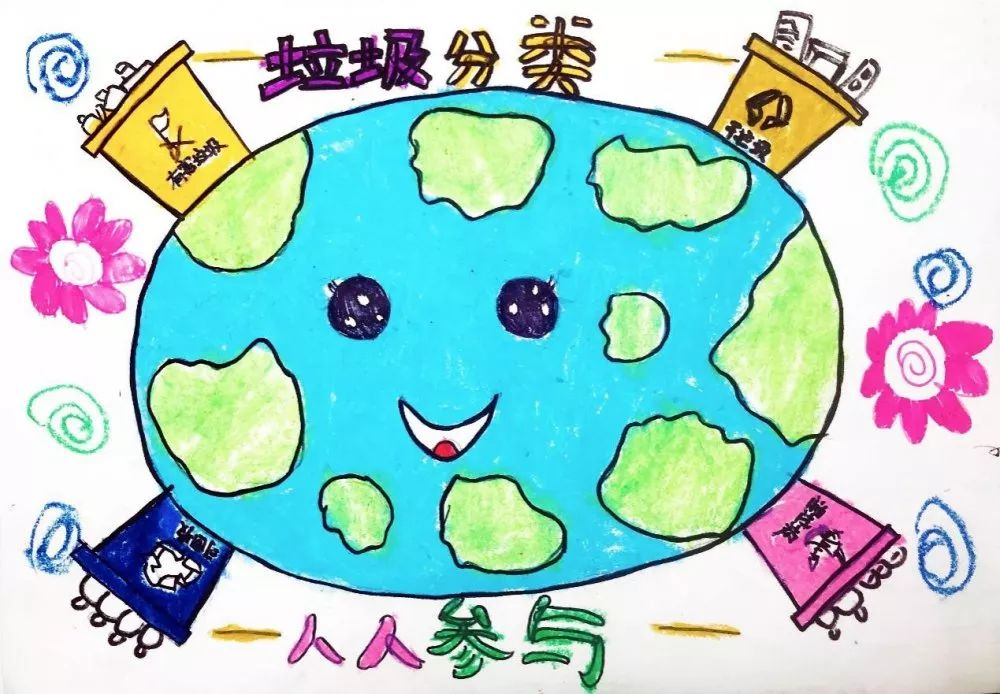 人体艺术美女全裸体囹�a�i)�aj_【参与投票】(少年组)北蔡镇垃圾分类创意绘画大赛来啦!