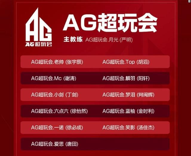 AG超玩会秋季赛大名单公布!五虎仅剩梦泪老帅,惹巨大争议