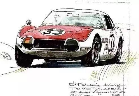 分车带手绘设计图