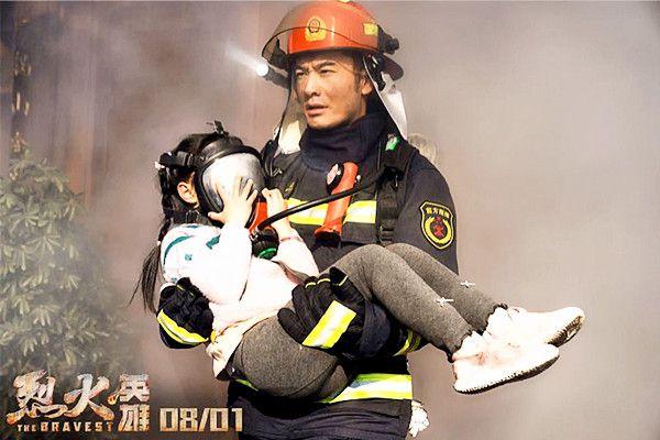 网爆《烈火英雄》片酬,黄晓明最高杜江很少,而她零片酬