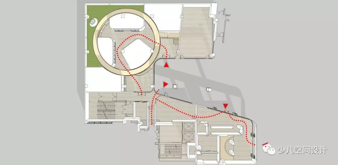商场平面图安全通道