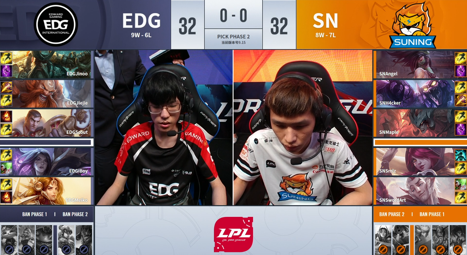 LOL:EDG两波大龙团太犹豫,季后赛首战SN先下一城!