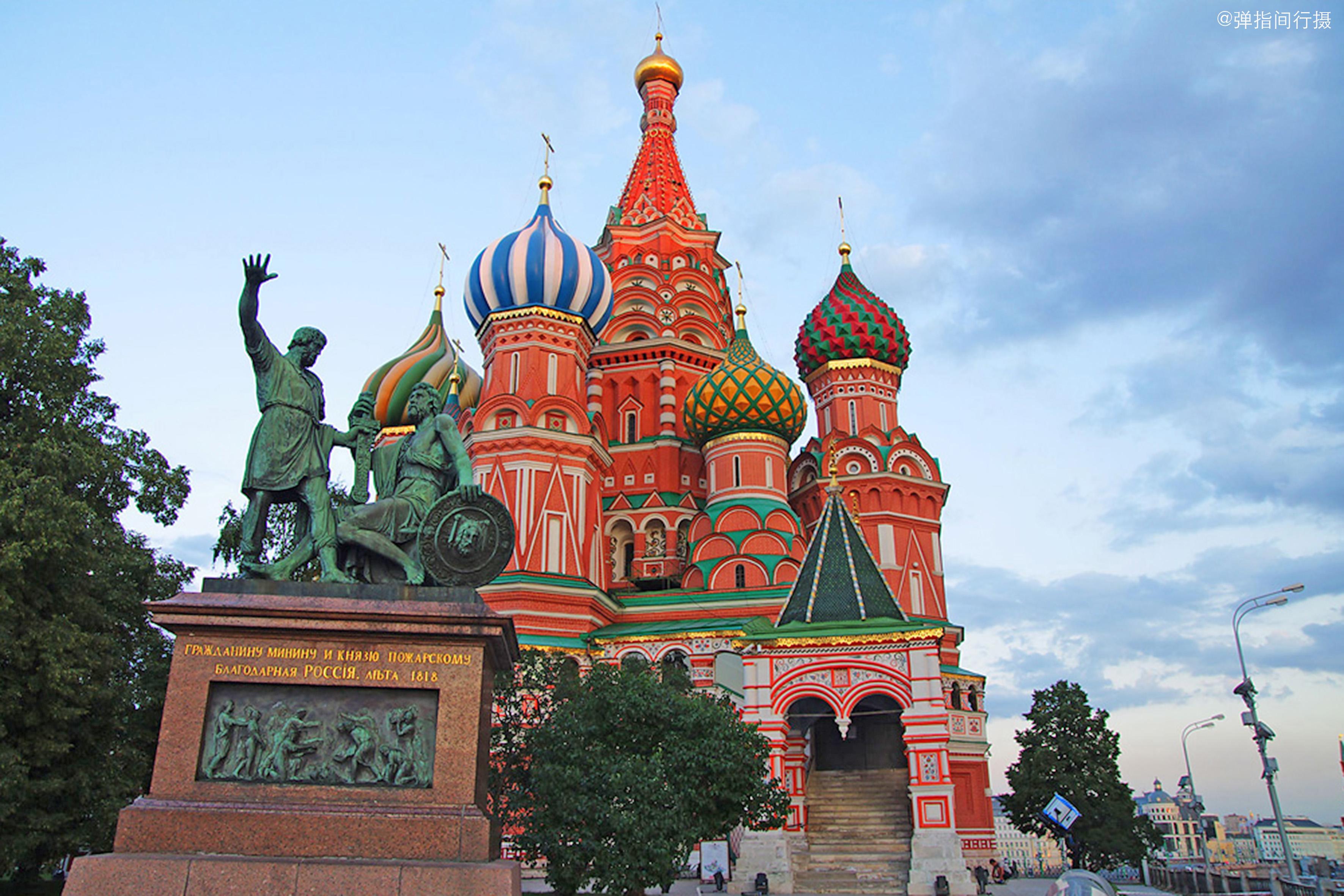 俄罗斯莫斯科究竟有多美?美轮美奂的红场,你一定不要错过!