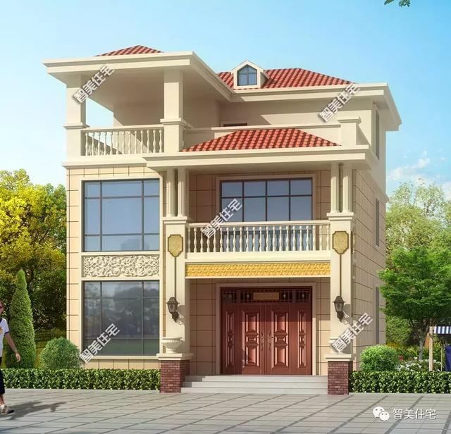 2×11.9米三层小面宽堂屋,带主体v堂屋,别墅28万轻松牡丹江别墅区图片