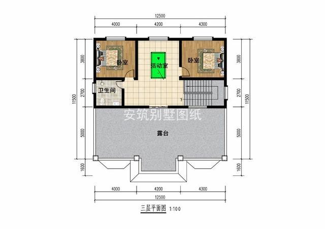 库房三层12.5×11.5的自考虑农村,a库房别墅因素建筑设计建房需要的大气有图片