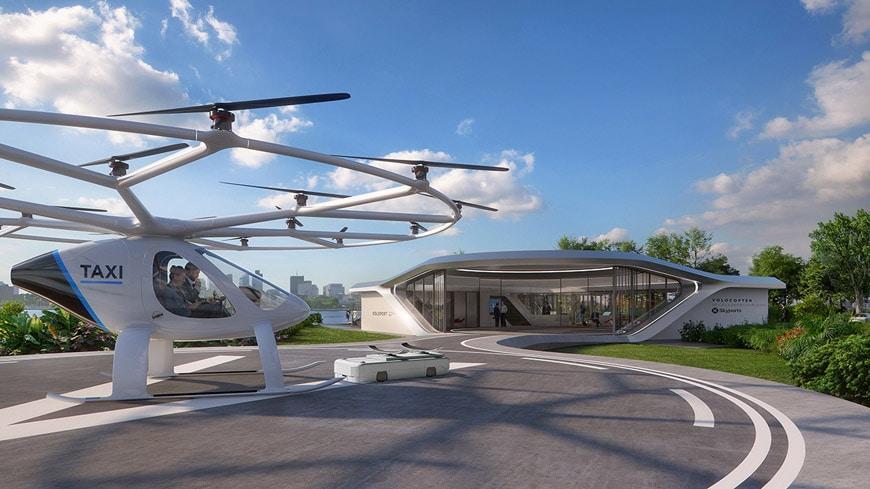 nlab_第一个用于空中出租车的移动volo-port由graft brandlab设计