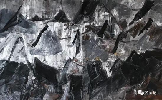 """""""冷湖、冷湖""""――2019年刘明才油画作品"""