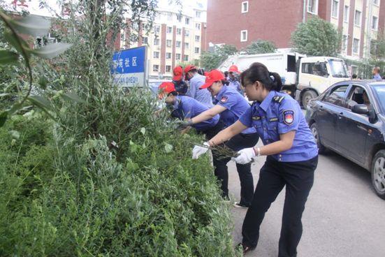 环境整治齐动手 老旧小区换新颜—— 市客运总站志愿者服务在行动