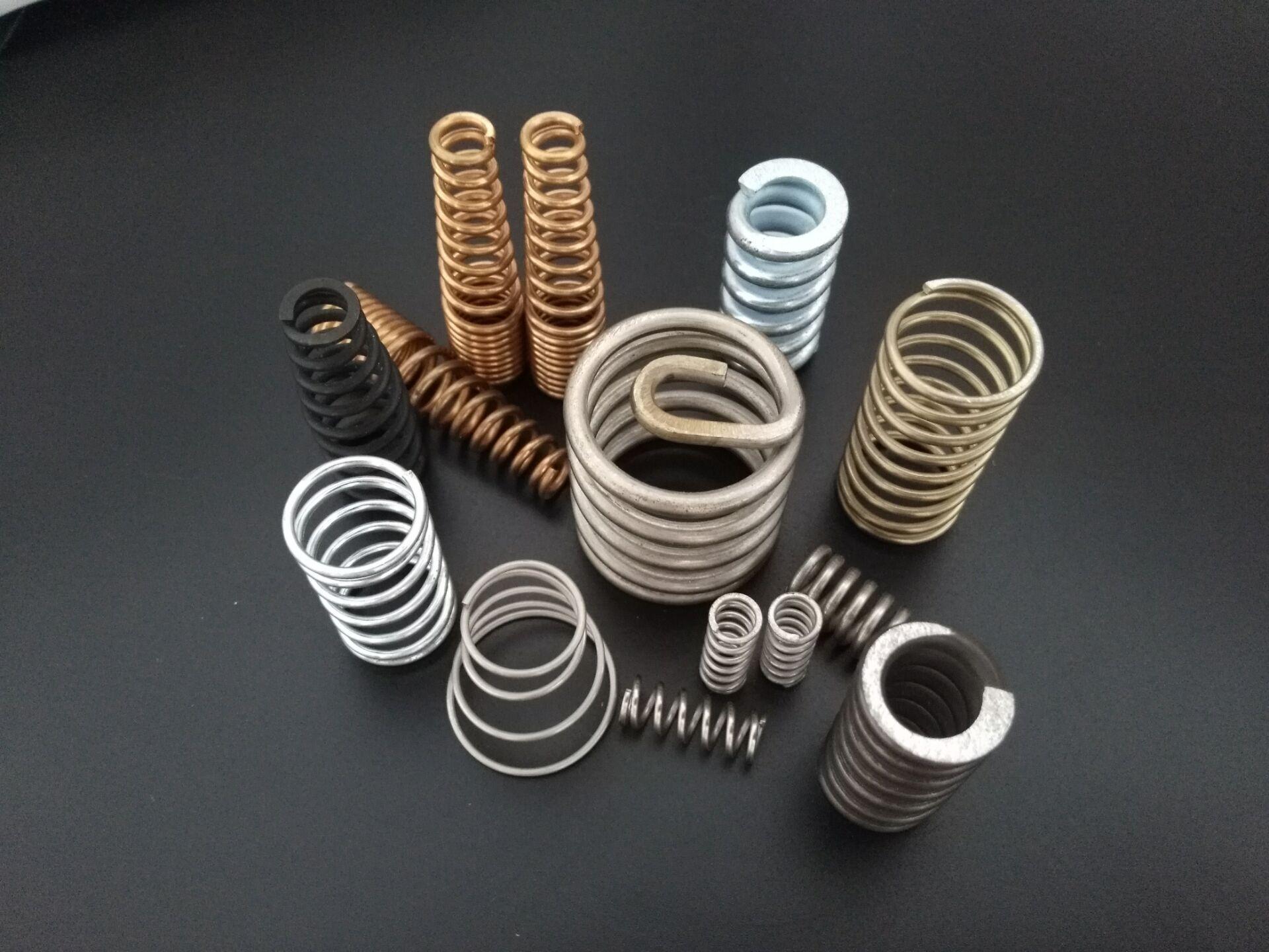 机械设计与制造圆柱螺旋压缩弹簧规定画法和各部分名称及尺寸计算