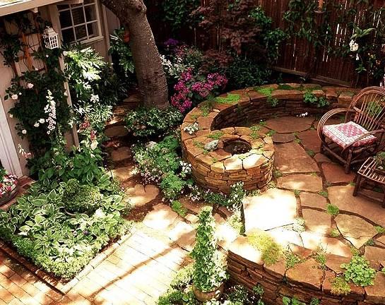 找一个院子,沏茶看鱼
