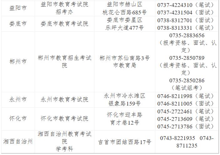 出了,2019湖南教师资格证考试公告,9月3日报名