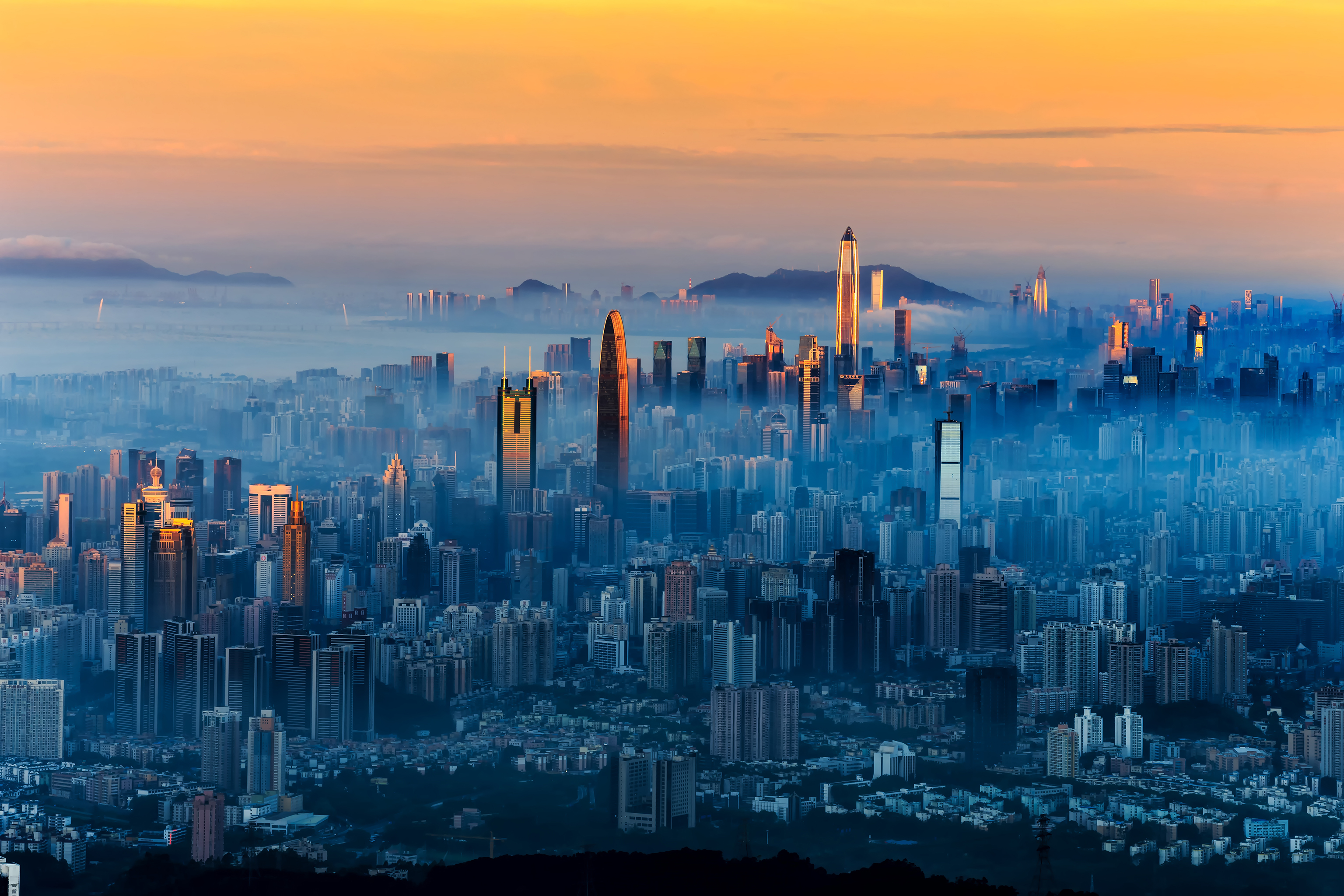 2019中国城市发展潜力排名盯著擂�_:深北上〖广排前四,成都第五南京第¤六