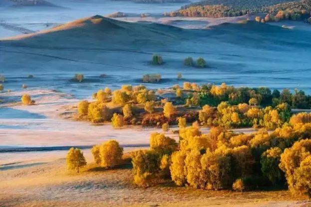 如果你错过了呼伦贝尔的夏天,请在秋天来寻梦