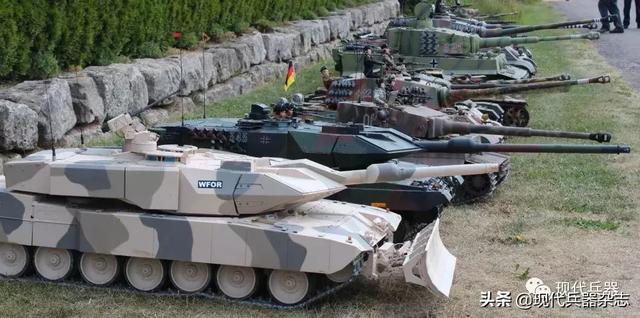 """德国豹2a7_德国""""豹""""2A7+ 世界上最好的主战坦克,没有之一_炮塔"""