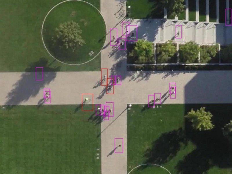 RetinaNet在航空图像行人检测中的应用