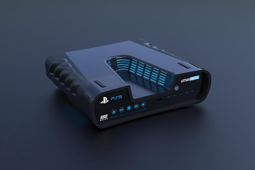 这才是次时代主机 索尼PS5开发机曝光 太科幻!