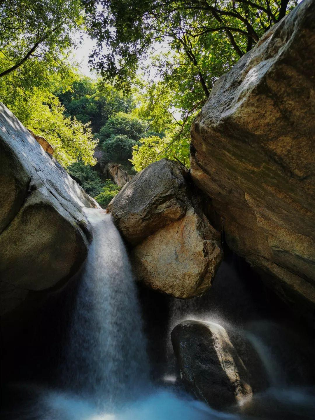 碧潭飞瀑连成串 嵩县这条绝美徒步路线却鲜为人知