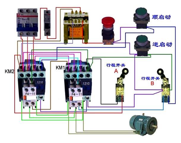 电动机控制电路图