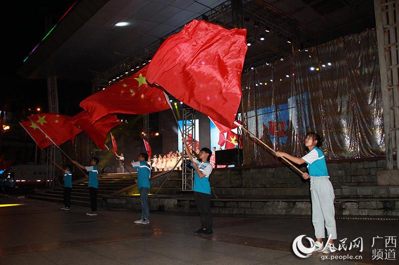 广西岑溪市举办2019年教育扶贫暨奖学助学晚会