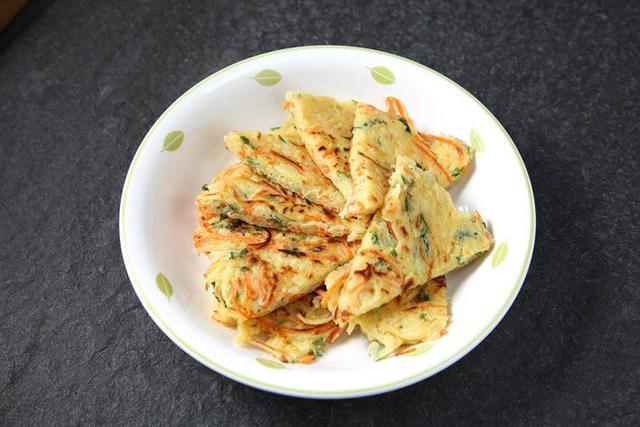 食谱丨土豆丝鸡蛋饼,早餐的美好选择!