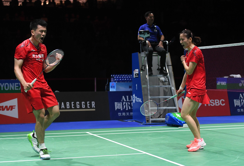 羽毛球――世锦赛:郑思维/黄雅