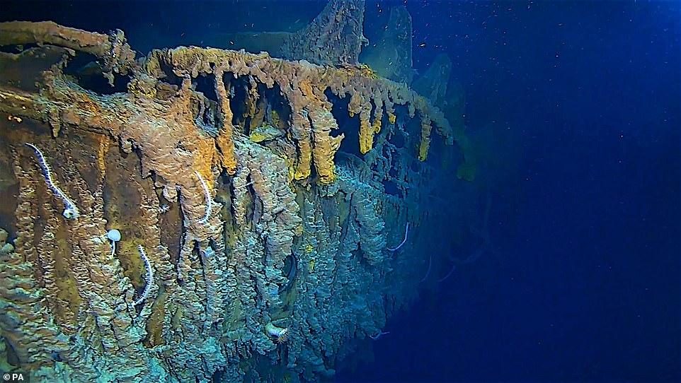 泰坦尼克号沉船腐蚀严重,残骸或将于2030年彻底消失