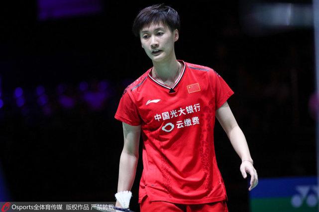 首局仅得7分陈雨菲0-2不敌辛德胡 无缘世锦赛女单决赛