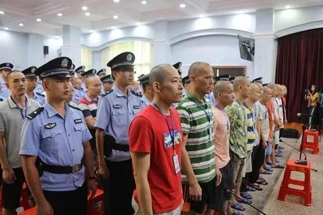 广西两姓村民持械互殴致18人受伤,一审宣判37人获刑