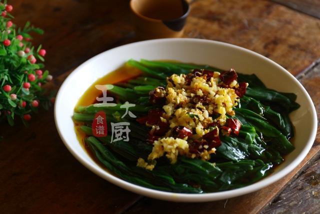 这种方法做出的木耳菜最简单,但味道却最鲜美,清爽可口解腻开胃
