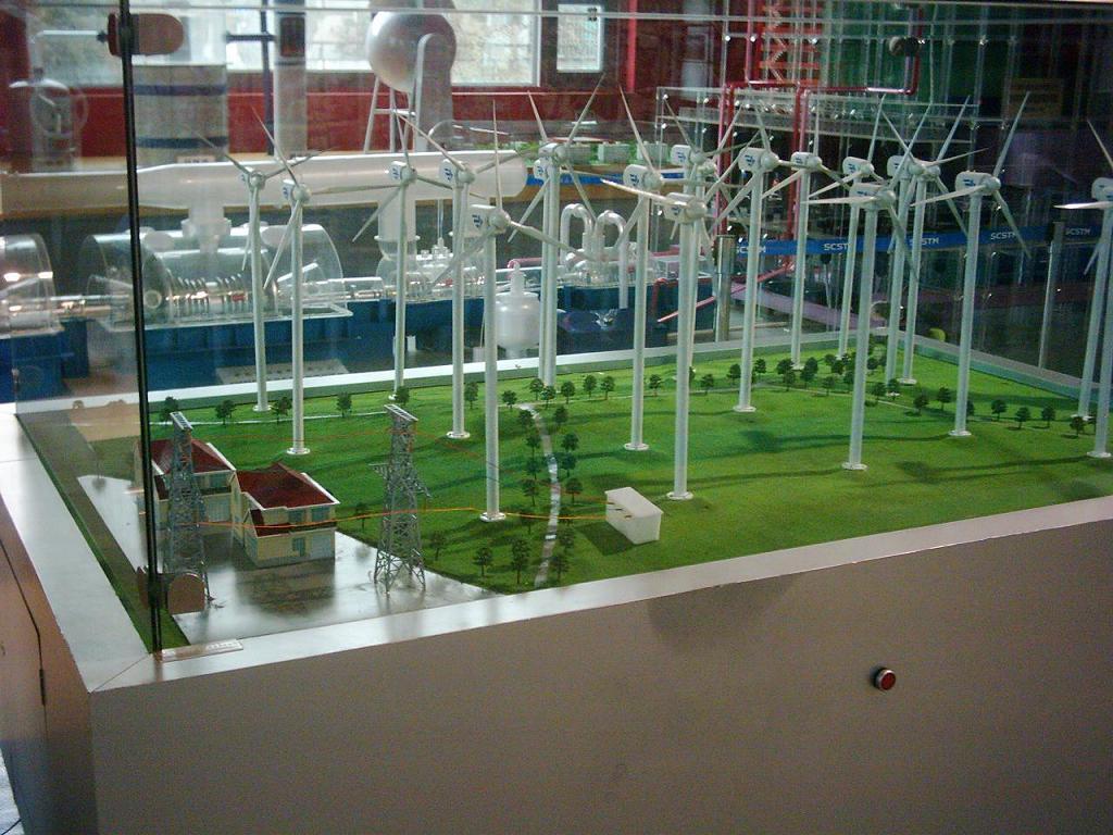 风力发电模型 风光互补模型