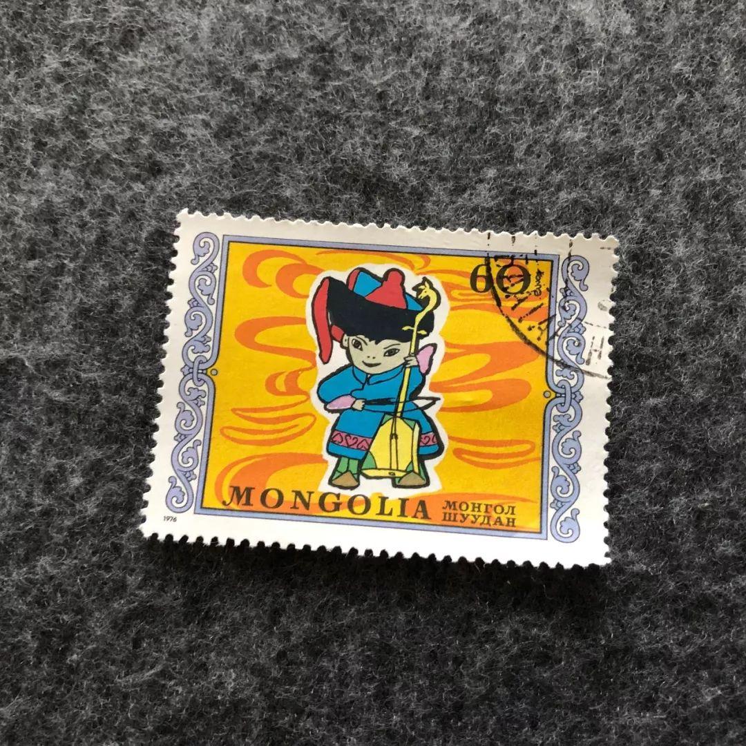 【印迹】那些日子,我收集的马头琴邮票图片