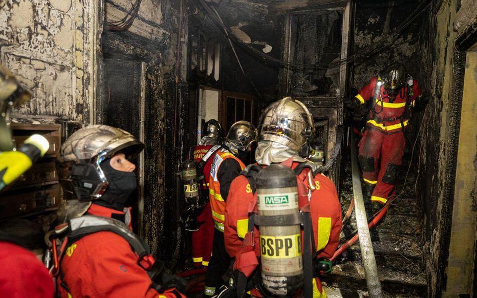 巴黎市中心发生火灾:致一人死亡 火灾原因尚不明