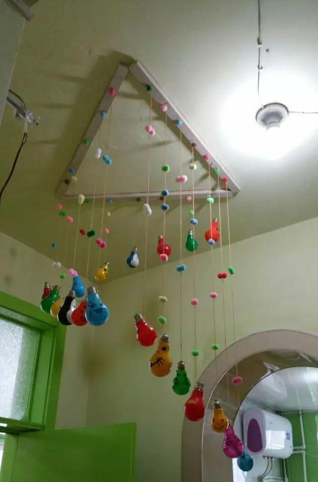 【环创吊饰】幼儿园环创手工吊饰,幼师收藏好太漂亮了